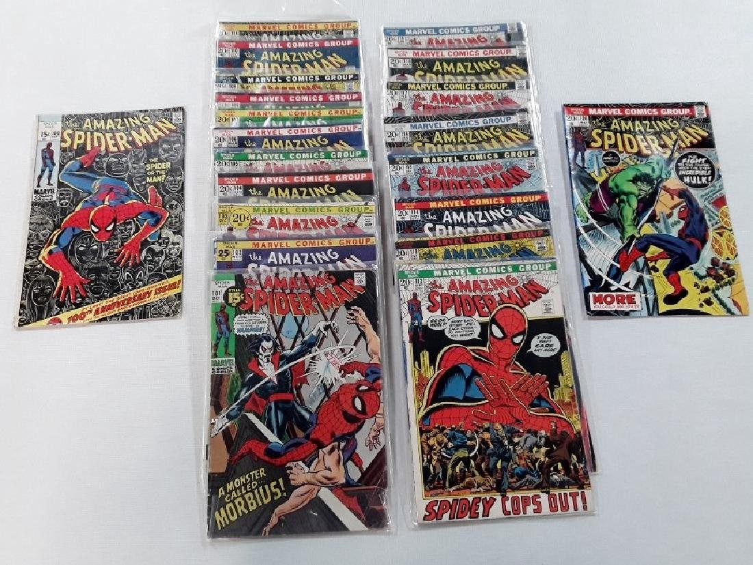 The Amazing Spider-Man Issues #100-120