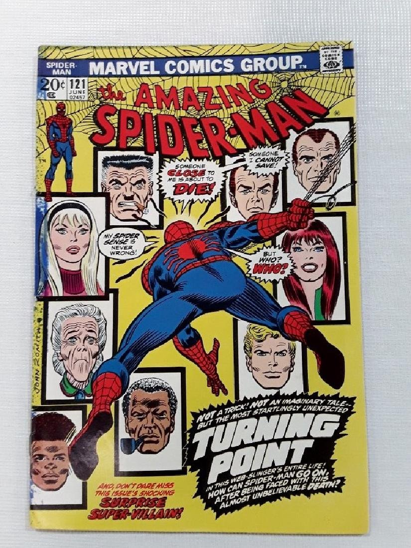 The Amazing Spider-Man Issues #121