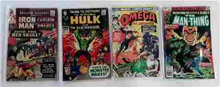 Lot Of 4 Marvel Comics