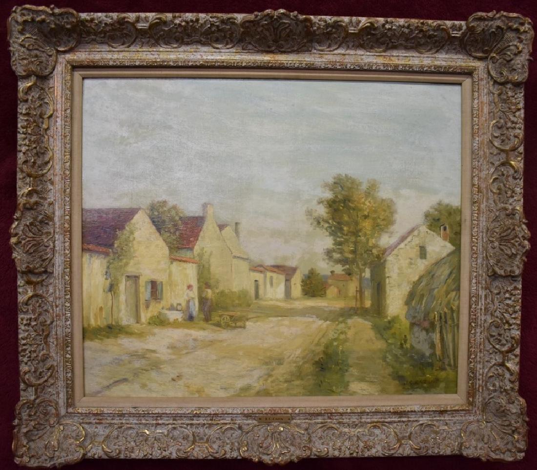 Jean Charles Cazin, Fr 1841-1901 Oil on Canvas