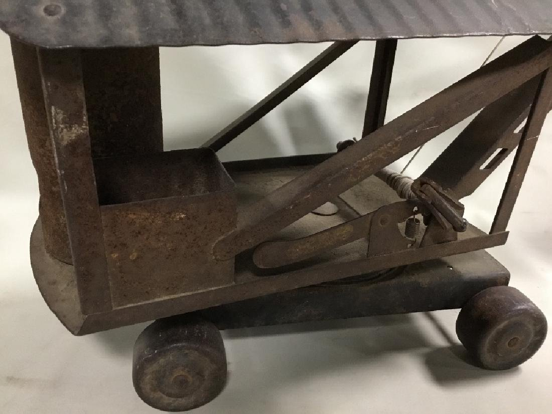 1920's Buddy-L Steam Shovel Solid, Found Condition - 2