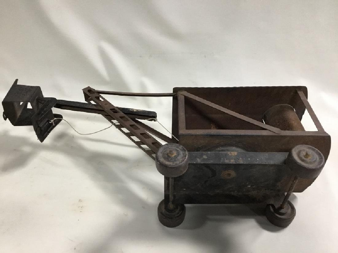 1920's Buddy-L Steam Shovel Solid, Found Condition - 4