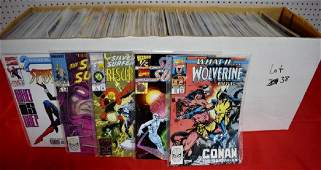 Lot of approximately 300-350 Comics. Various Marvel
