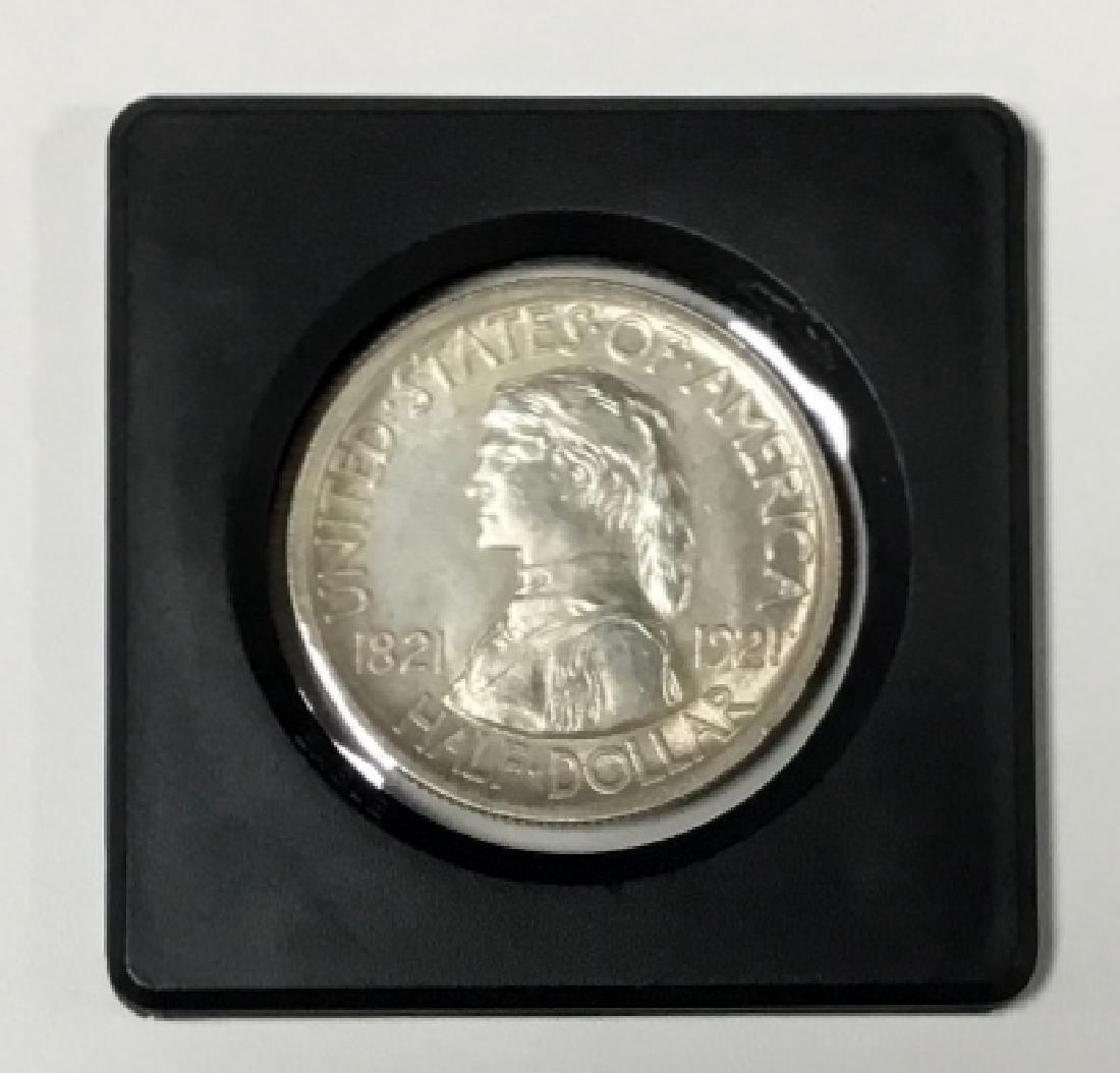 1921 Missouri Centennial Half Dollar - 2