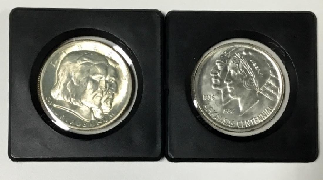 Lot of 2 Half-Dollars