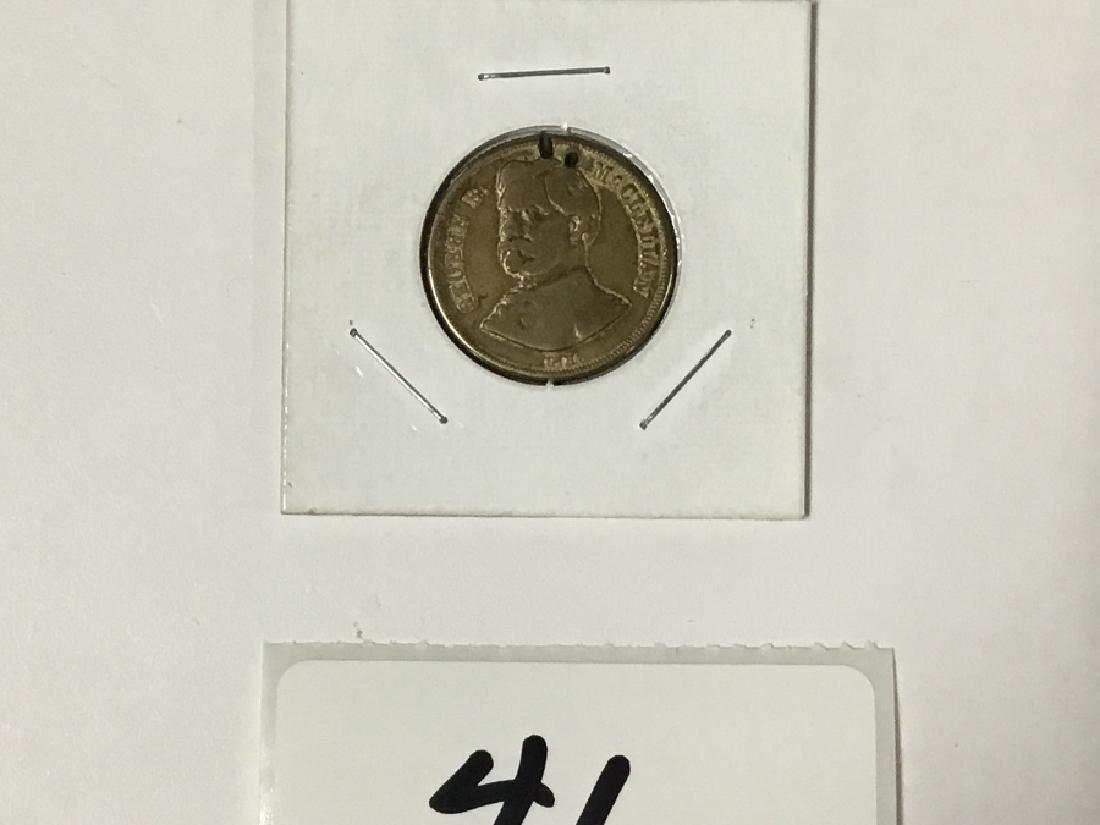 George B. McClennan-1864 Presedential Campaign Coin