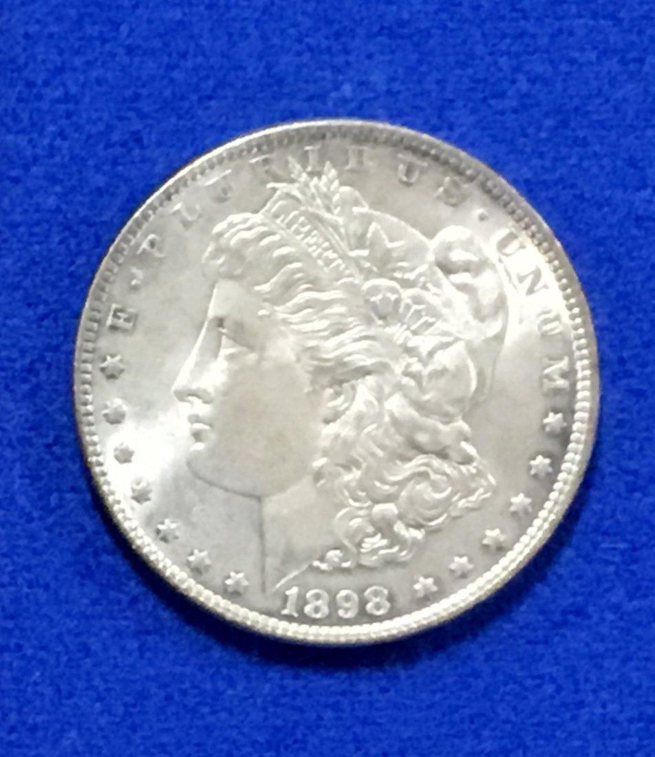 1898 Morgan Dollar - 3
