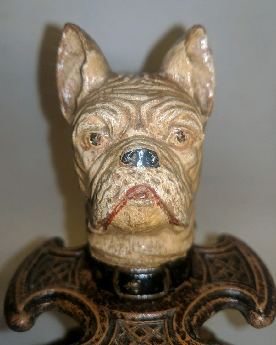 Rare Black Forest Dog pipe stand - 3