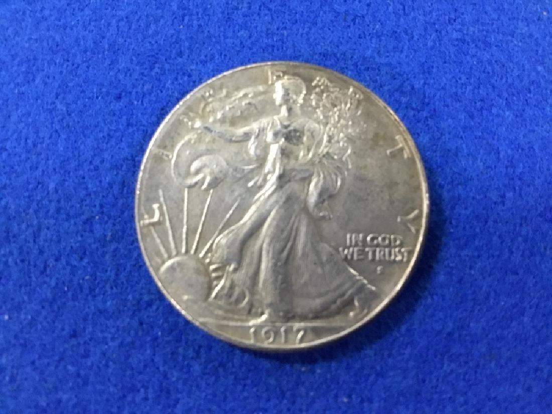 1917S Walking Liberty Half Dollar