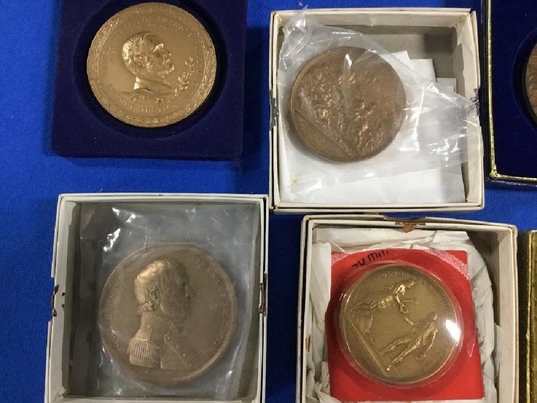 Lot of Commemorative Bronze Medals - 2