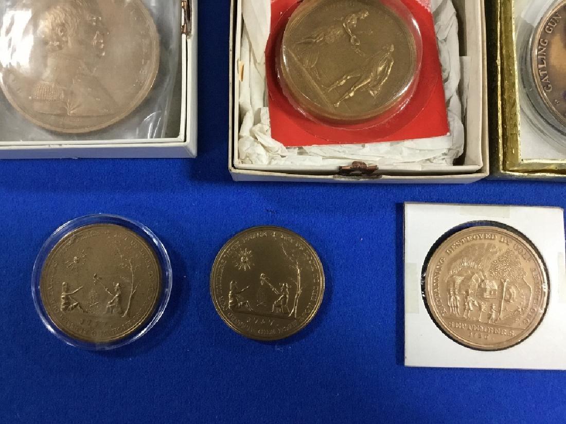 Lot of Commemorative Bronze Medals - 5