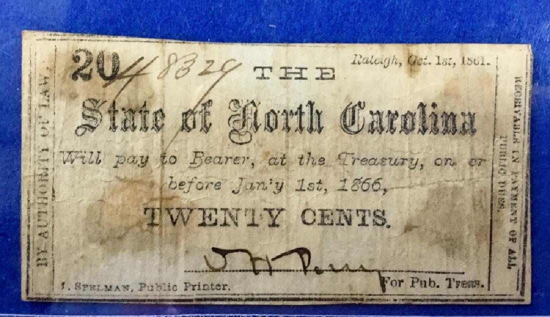 Lot of 9 North Carolina Notes - 4