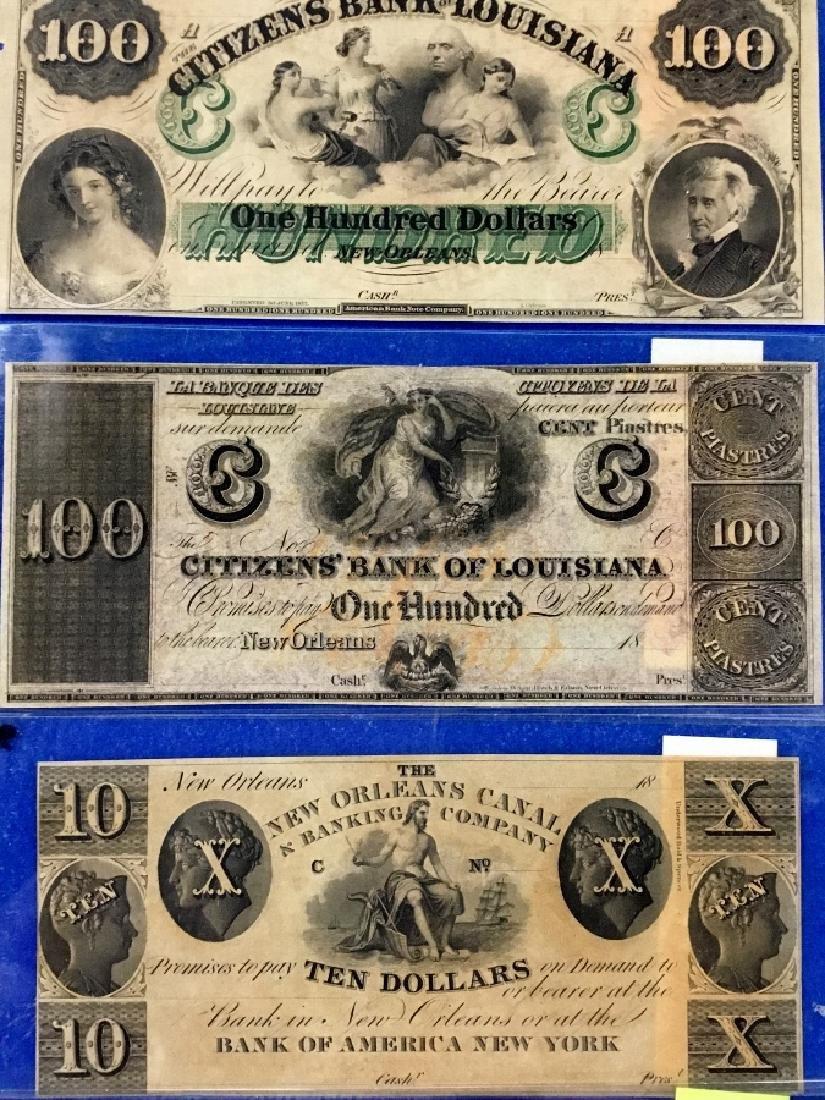 Lot of 5 Louisiana Notes - 2