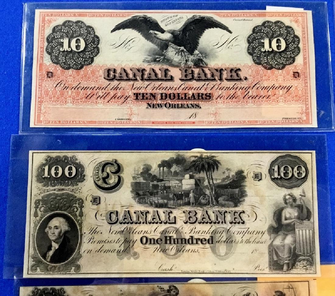 Lot of 9 Various Notes - 2