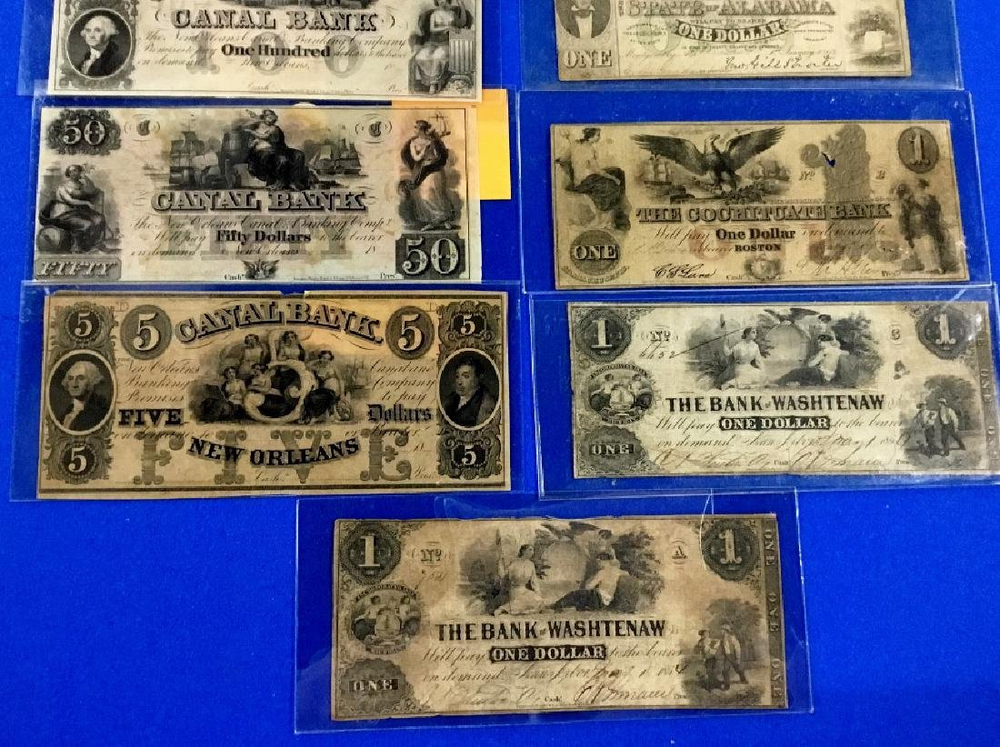Lot of 9 Various Notes - 4