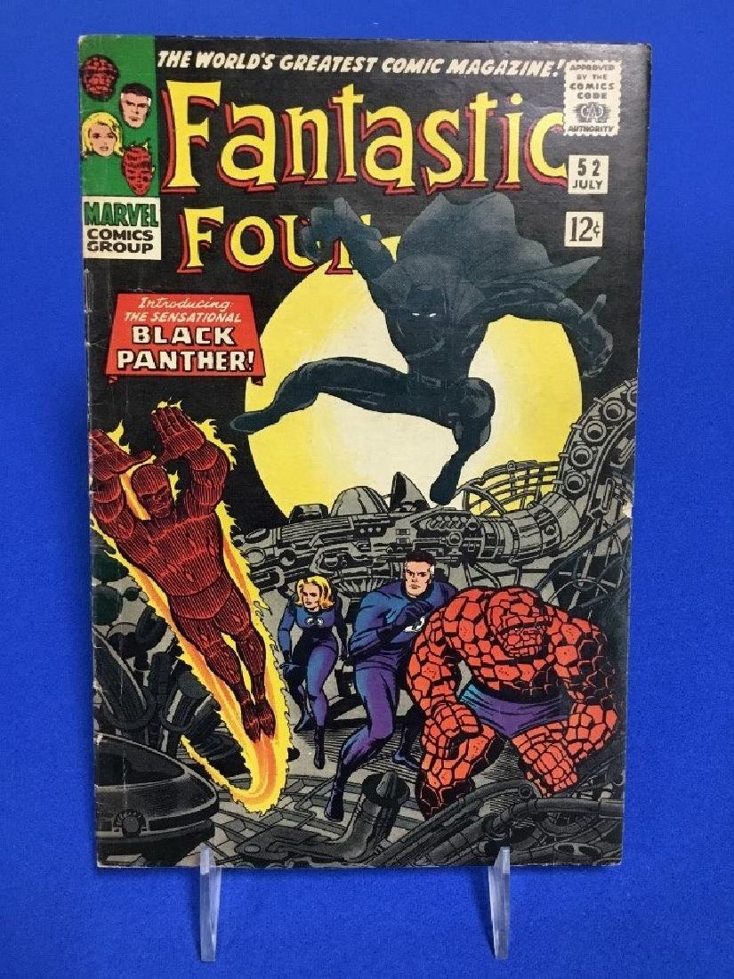 Fantastic Four #52 - First Appearance Blank Panther