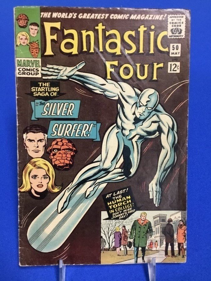Fantastic Four #50 - First Silver Surfer Cover