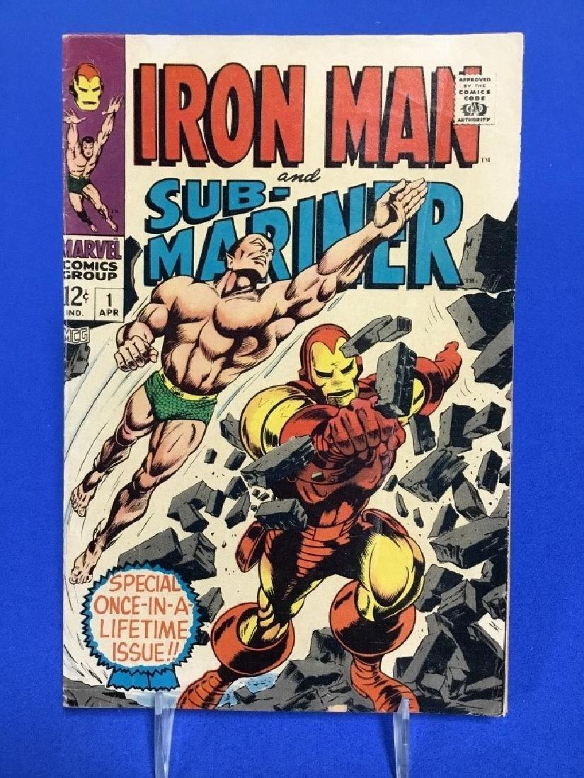 Iron-Man and Submariner #1