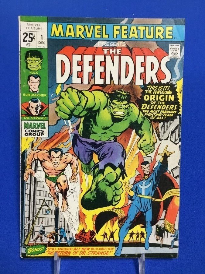 Marvel Feature #1 - Defenders