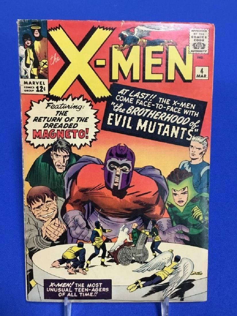 The X-Men #4 - First Appearance Evil Mutants
