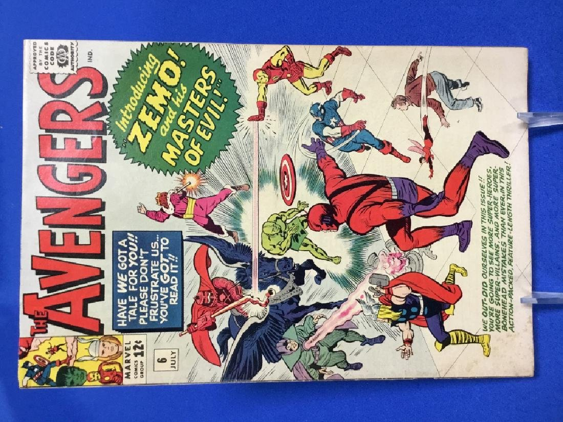 The Avengers #6 - First Appearance Masters of Evil