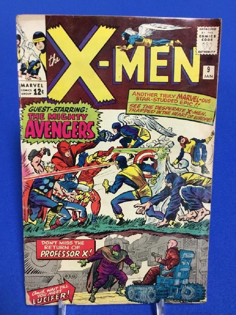 The X-Men #9 - First Appearance Lucifer