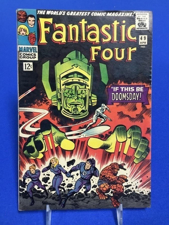 Fantastic Four #49 - Second Appearance Silver Surfer