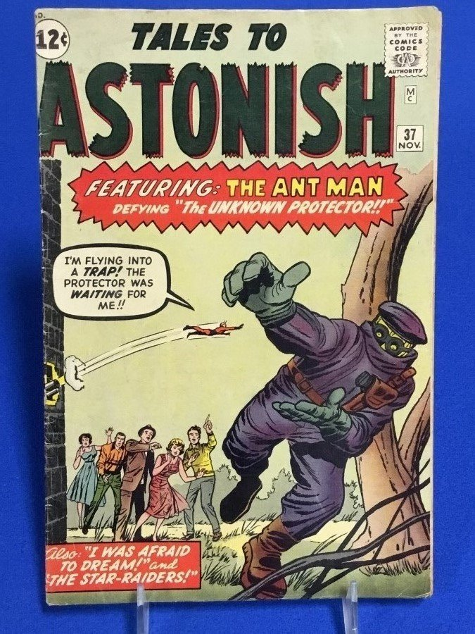 Tales to Astonish #37
