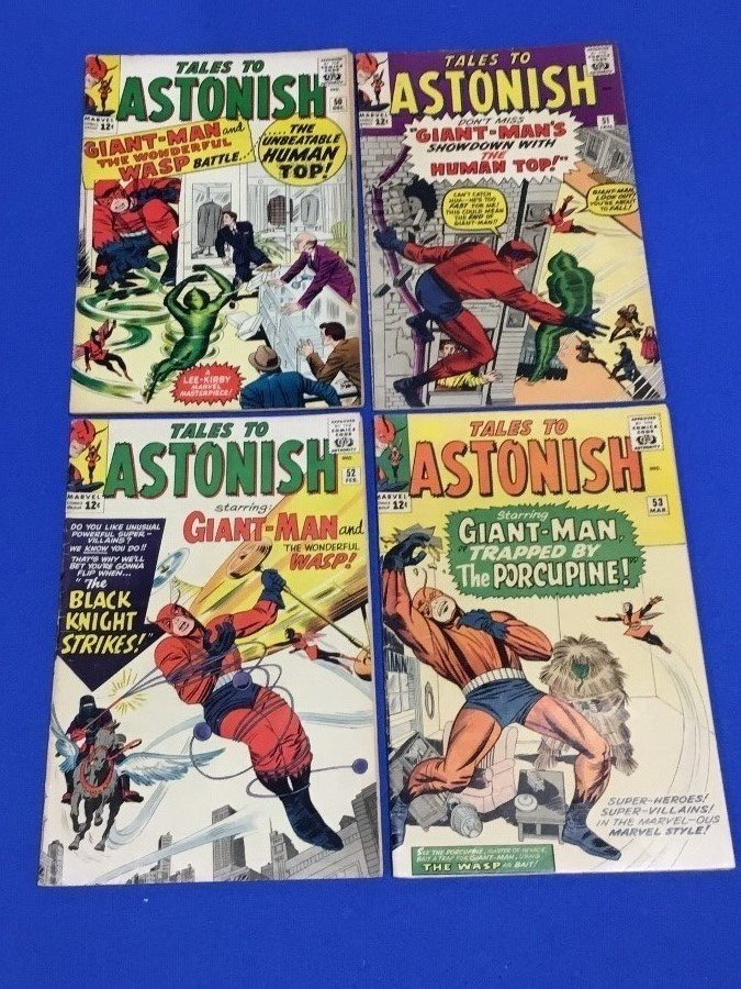 Tales to Astonish #50-53