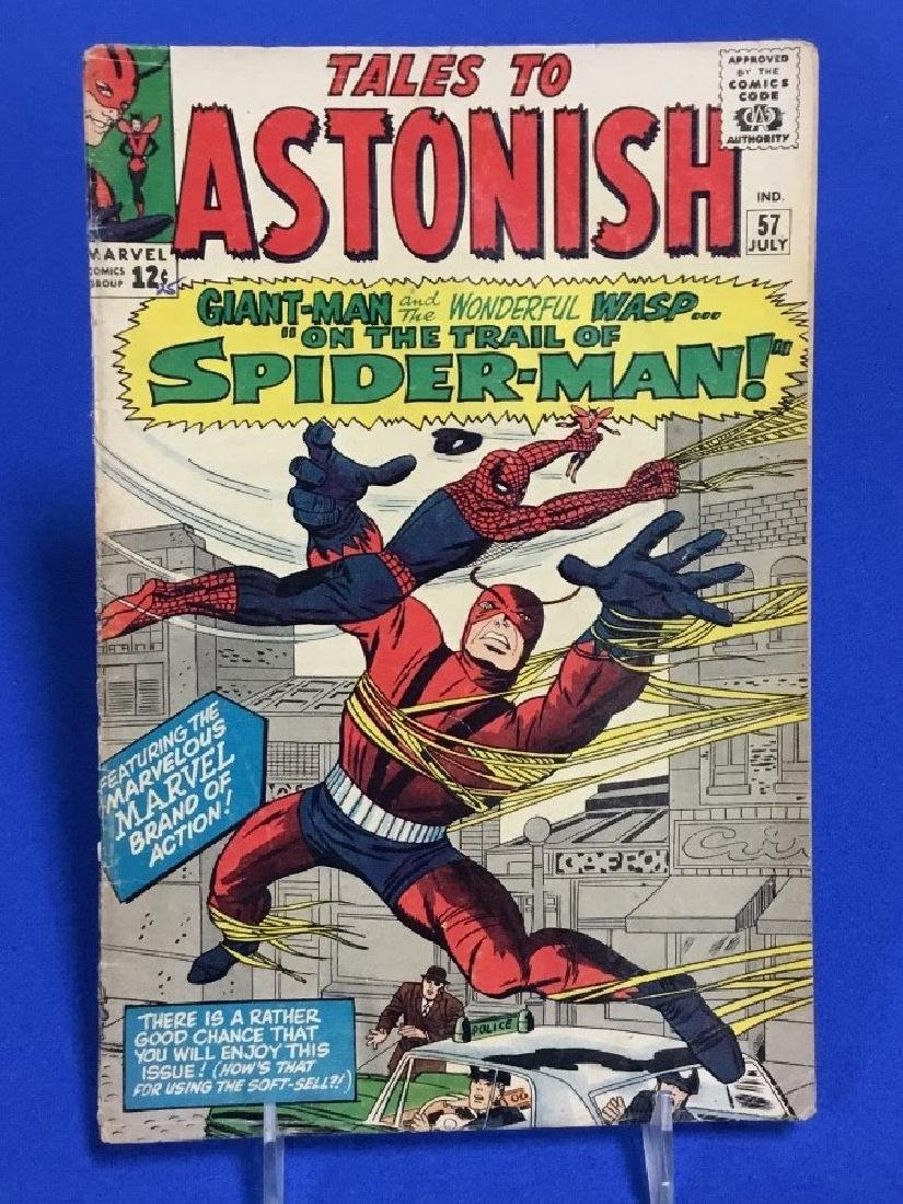 Tales to Astonish #57 - Spider-Man Cross Over