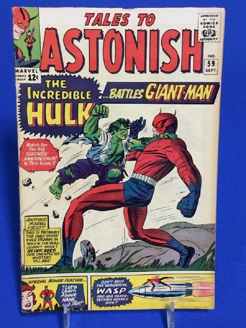 Tales to Astonish #59 - Incredible Hulk Cross Over