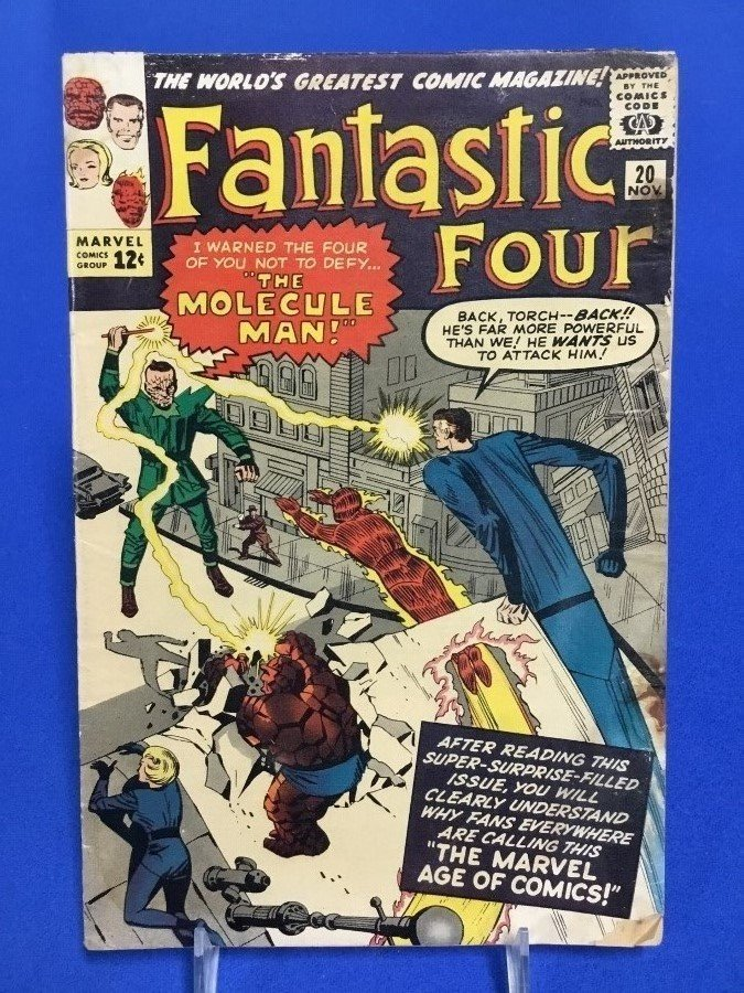 Fantastic Four #20 - First Appearance Molecule Man