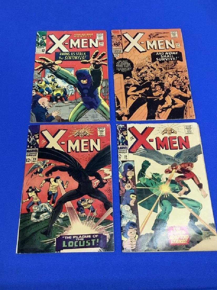 Lot of 4 The X-Men - #14, 17, 24, 29
