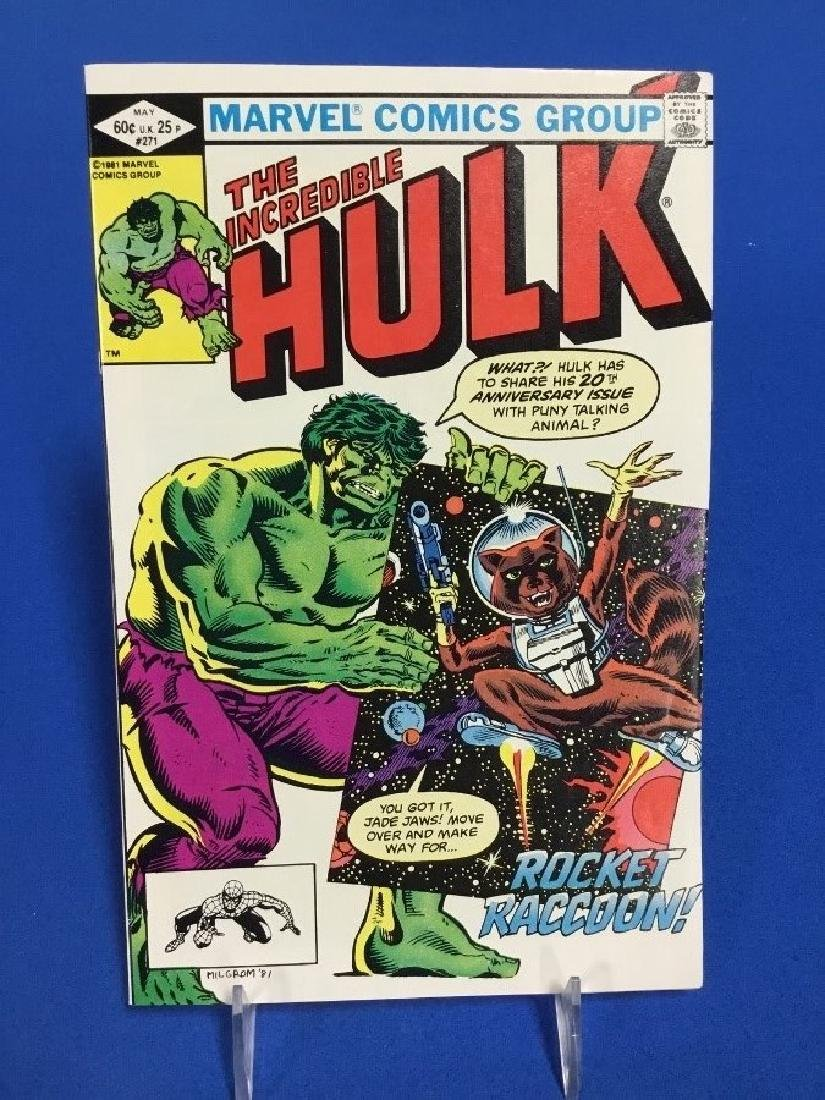 Incredible Hulk 271 - First Appearance Racoon