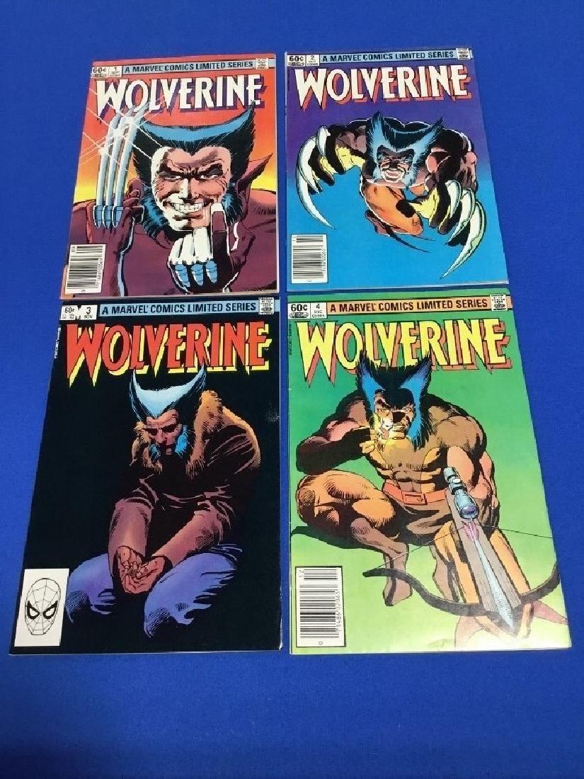 Wolverine #1-4 Limited Series