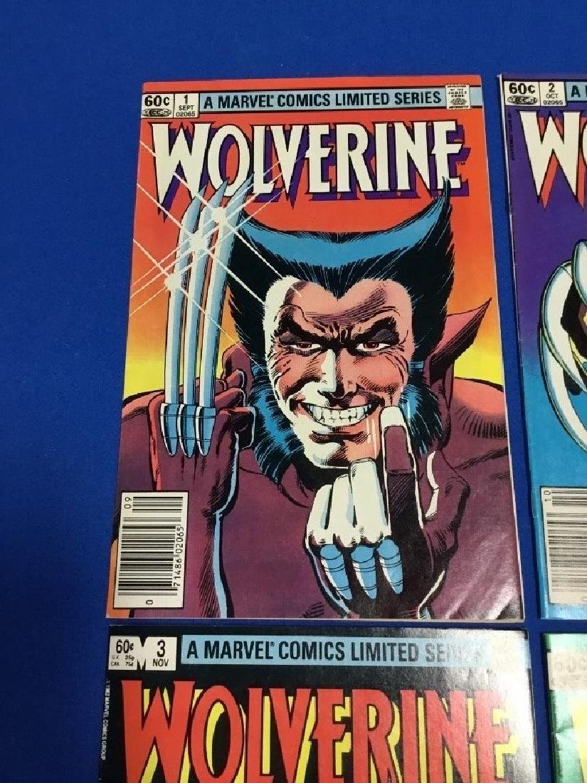 Wolverine #1-4 Limited Series - 2