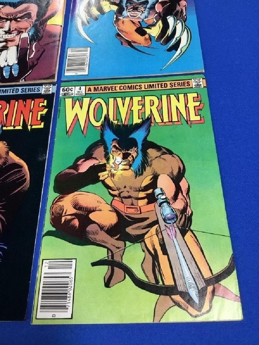 Wolverine #1-4 Limited Series - 3