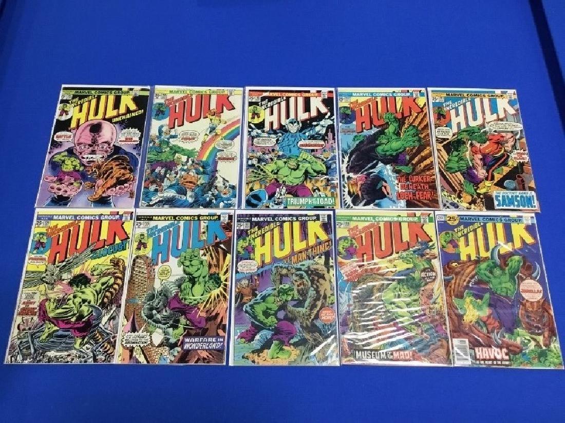 Lot of 10 Incredible Hulk - 188, 190-195, 197, 198, 202