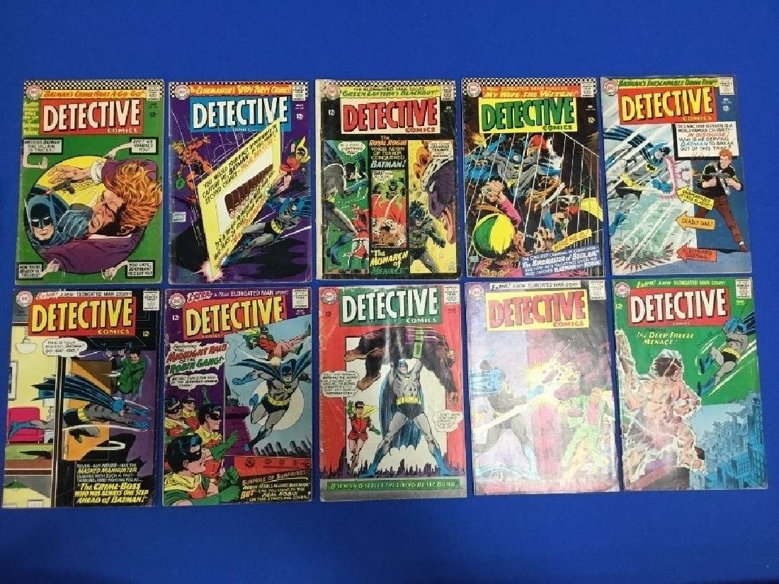 Lot of 10 Detective Comics - #337-339, 342, 344, 346,
