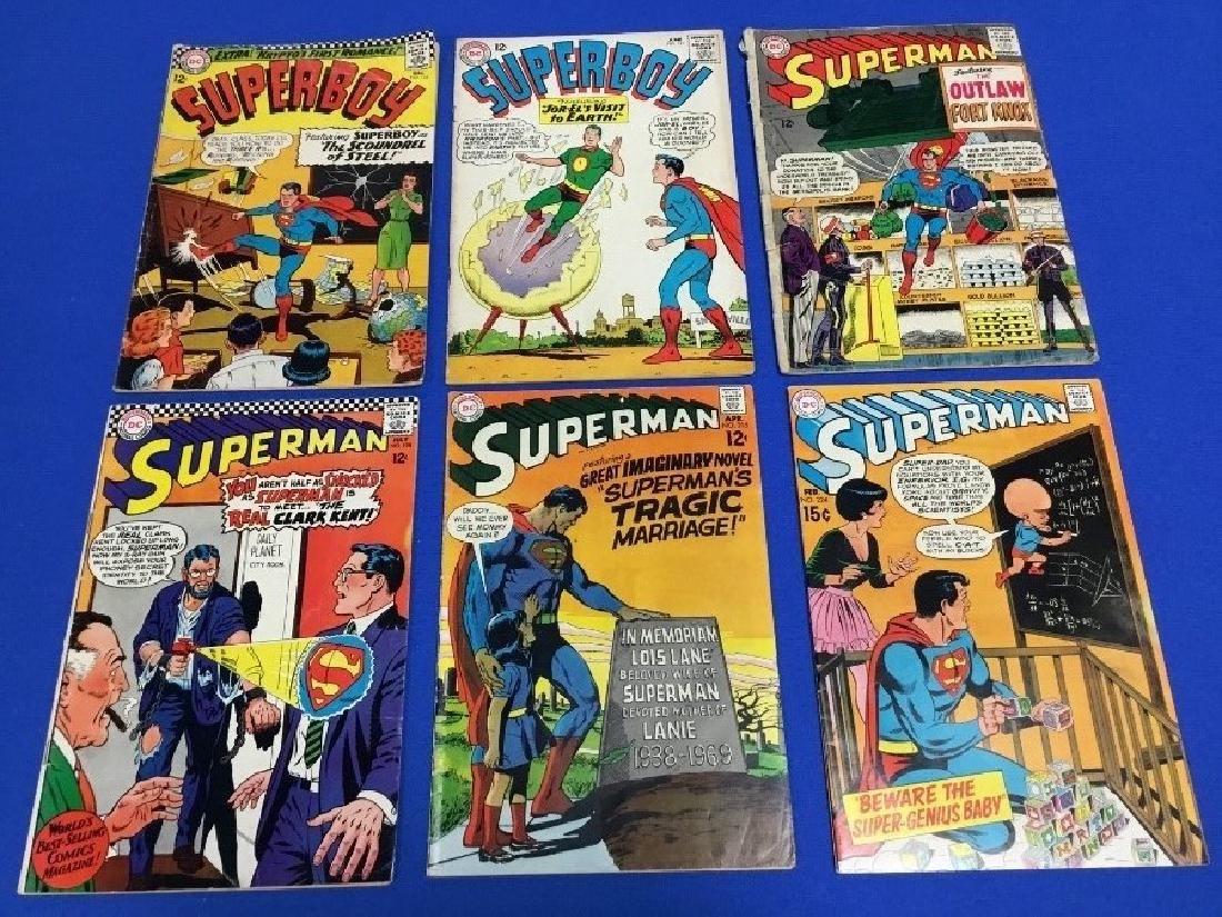 Superboy #121, 134 and Superman #165, 169, 171-175