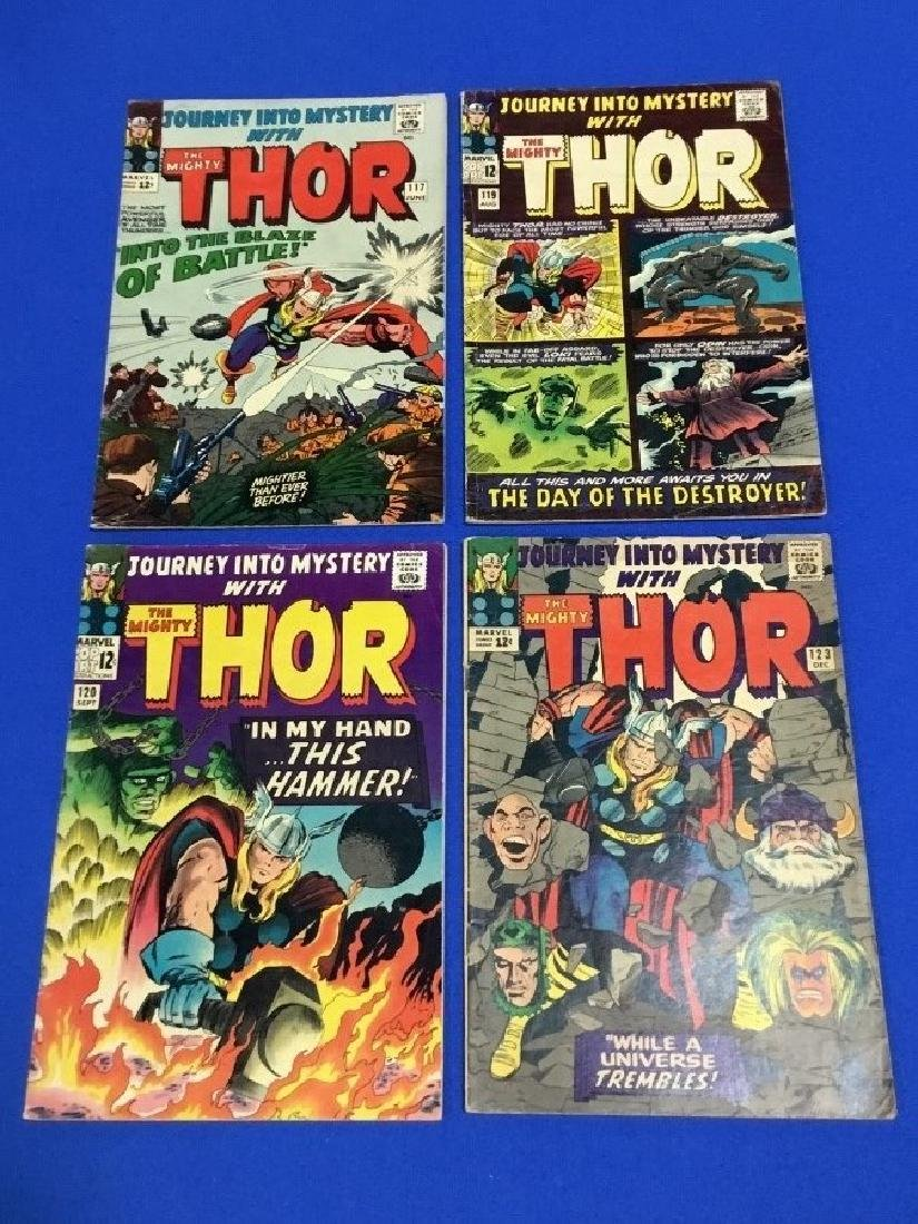 Lot of 4 Journey Into Mystery #117, 119, 120, 123