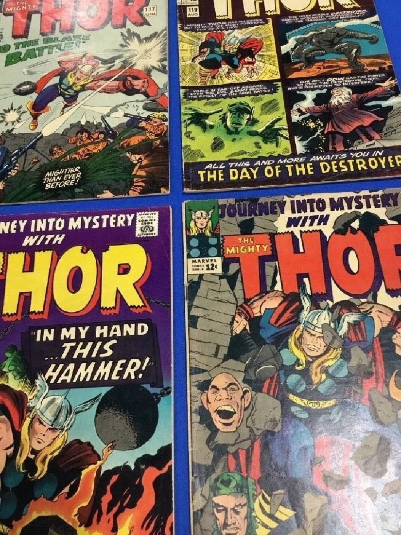 Lot of 4 Journey Into Mystery #117, 119, 120, 123 - 2