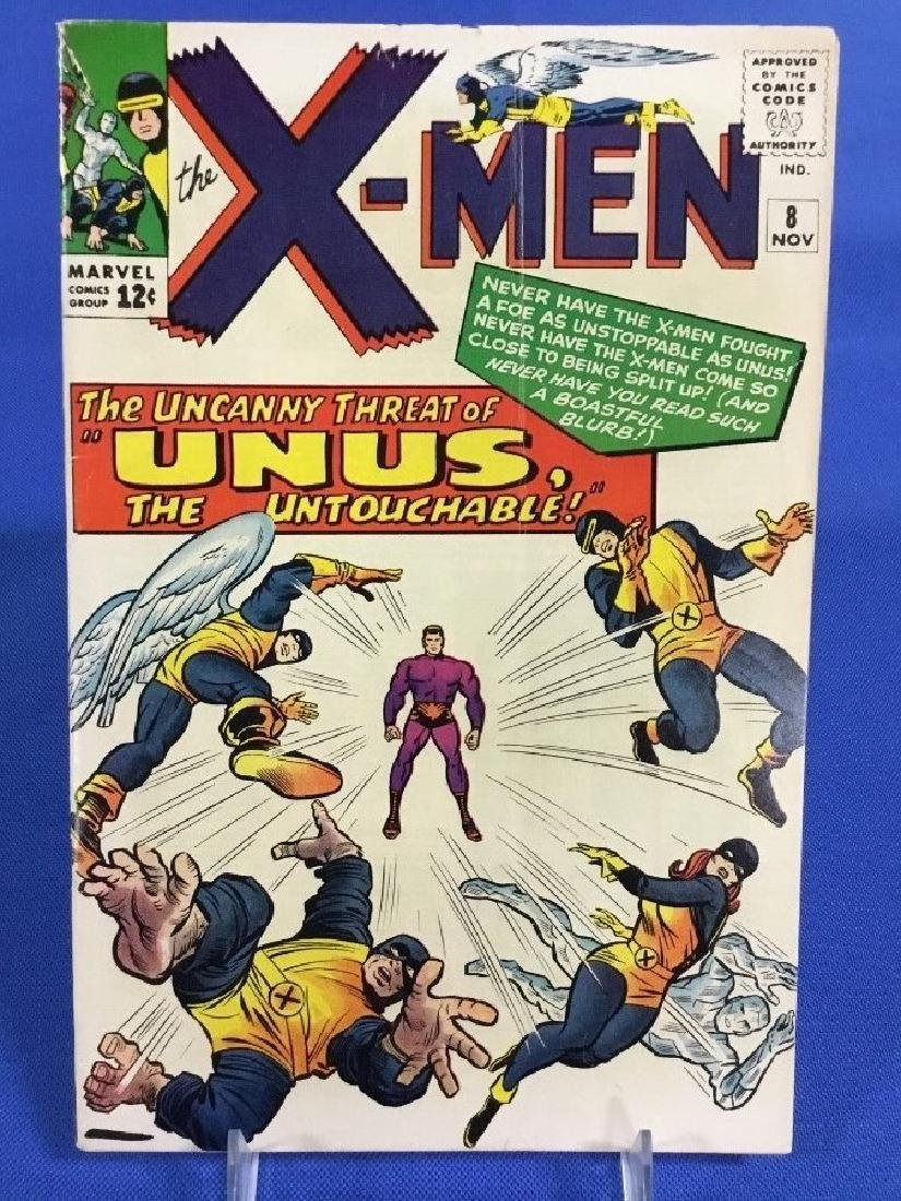 The X-Men #8 - First Appearance Unus