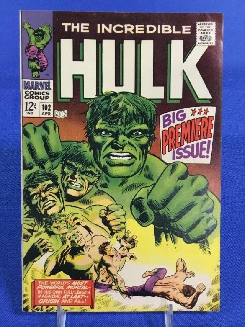 The Incredible Hulk #102 - Big Premier Issue