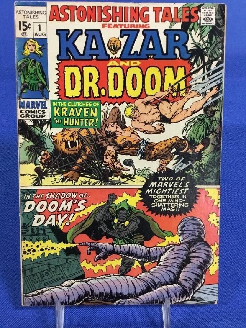 Astonishing Tales #1 - Kazar and Dr. Doom