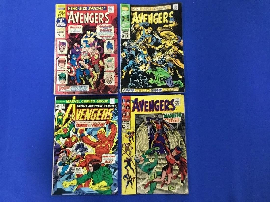 Lot of 4 Avengers - King Size #1,2 and Avengers 47, 134