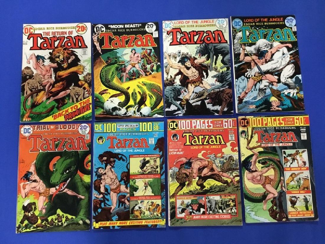 Lot of 8 Tarzan – 221, 225-228, 230-232