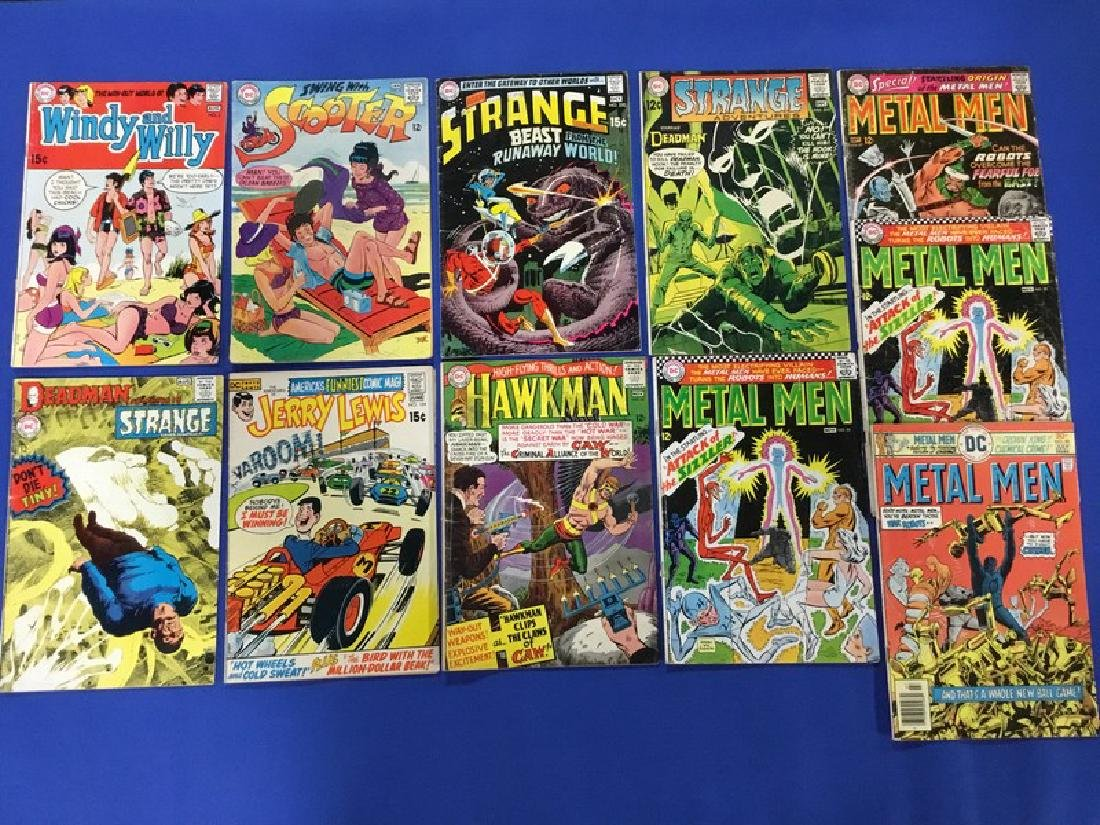 Lot of 10 DC Comics  Windy and Willy, Scooter,