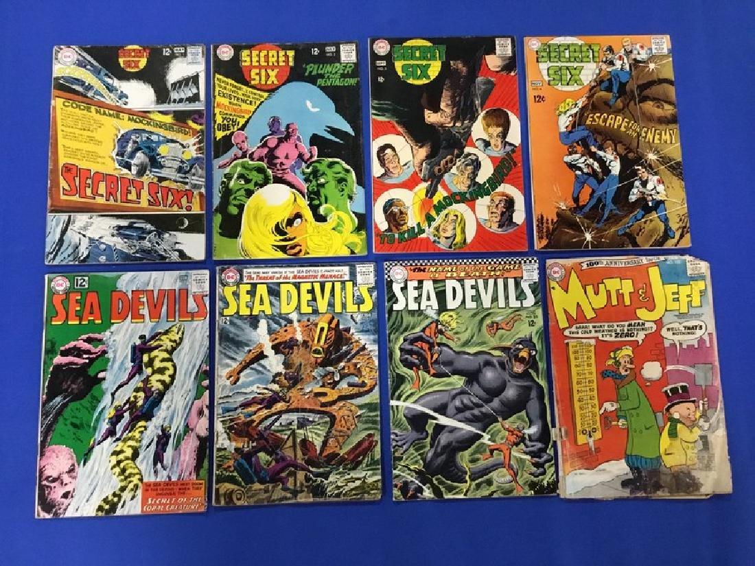 Lot of 8 DC Comics  Sea Devils, Secret Six, Mutt etc.