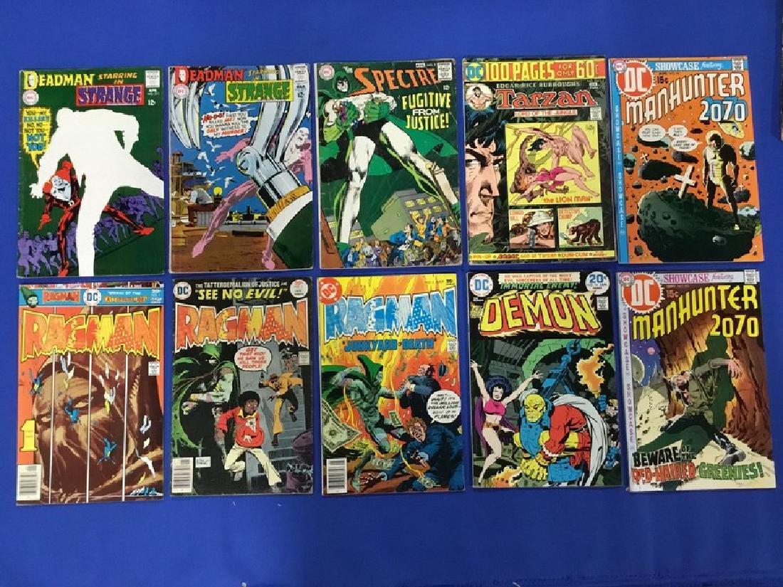 Lot of 10 DC Comics Deadman, Spectre, Tarzan,